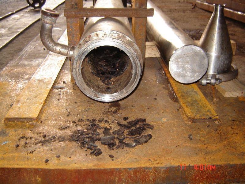 Limpeza de trocadores de calor