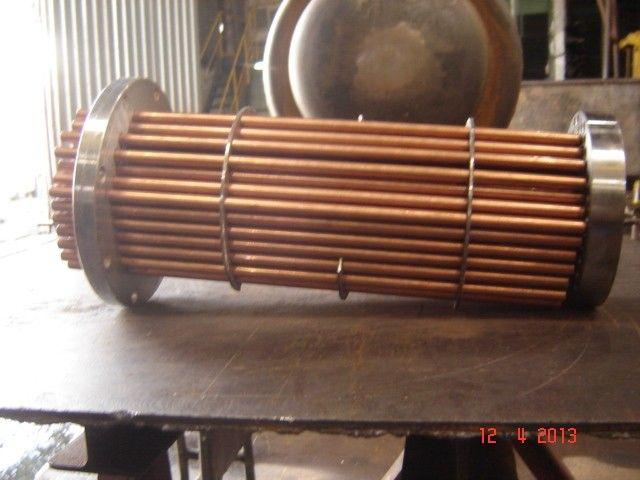 Trocador de calor serpentina