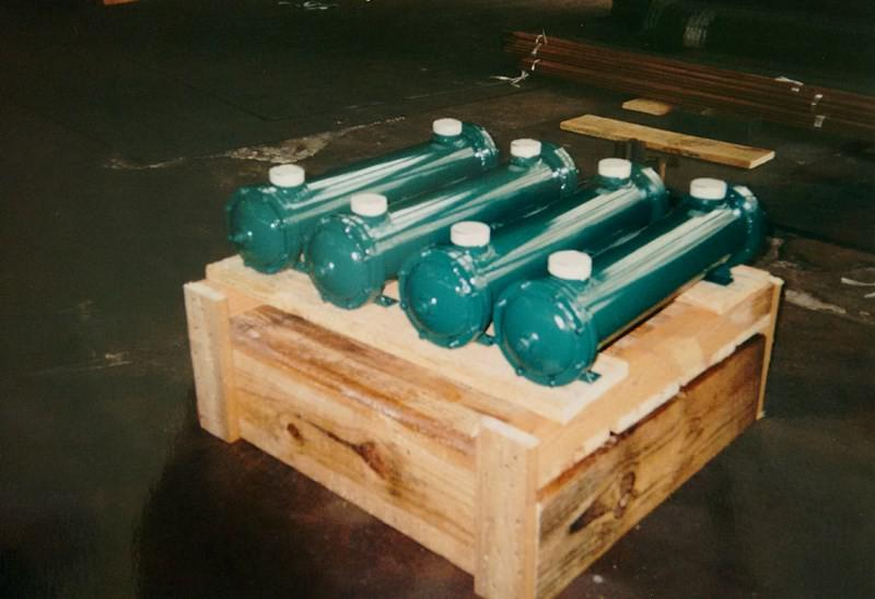 Trocadores de calor para resfriamento de óleo